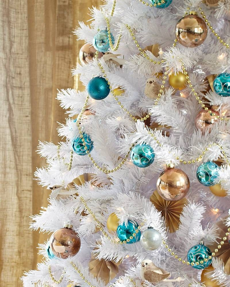 Blue christmas trees decorating ideas - Christmas Tree Themes