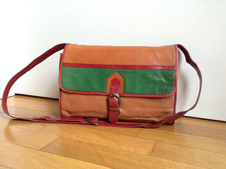 YSL  YSL vintage  crossbody bag  SaintLaurent leather handbag  seventies original  YSL shoulder bag by MagicRatVintage on Etsy abcb8c51db883