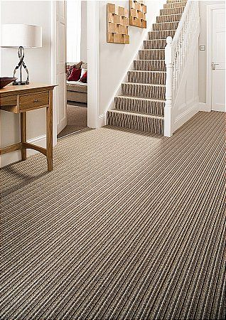 Striped Carpet For Stairway Striped Carpets Carpet Stairs