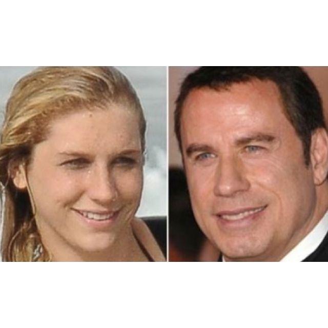Kesha And John Travolta Are The Same Person O John Travolta Kesha Ke Ha