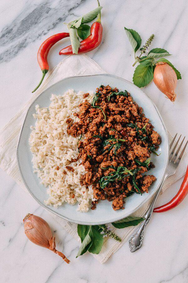 Pork & Holy Basil Stir-fry (Pad Kra Pao)