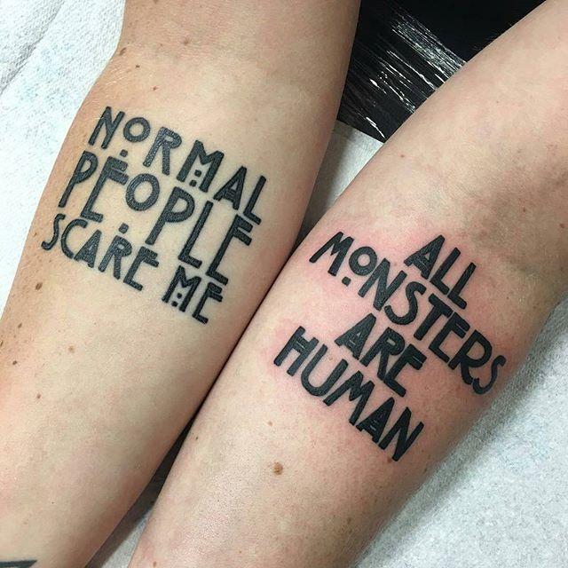 Instagram Photo By Yayo Jun 9 2016 At 6 49am Utc Tattoos Horror Tattoo American Horror Story Tattoo