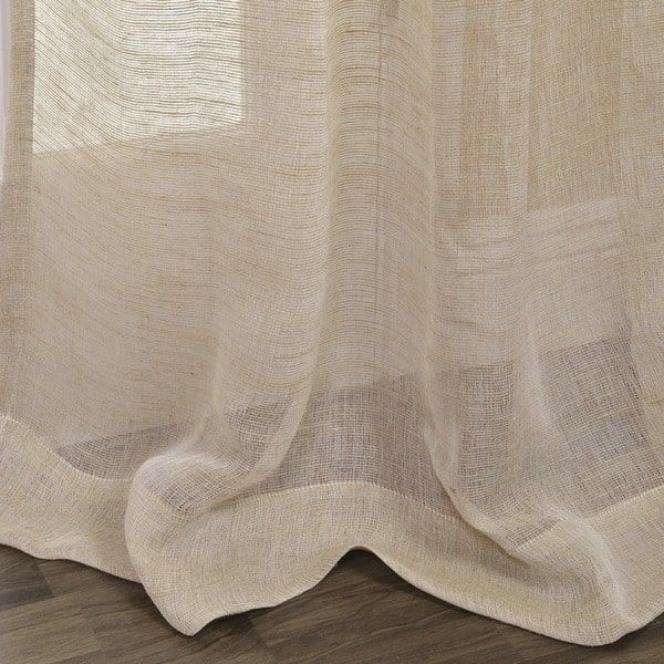 Overstock Com Online Shopping Bedding Furniture Electronics Jewelry Clothing More Natural Curtains Sheer Linen Curtains Curtains