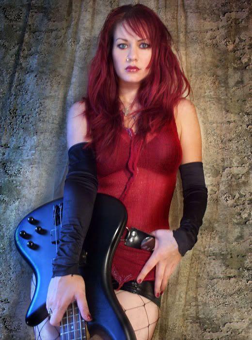 Nadja Peulen - Bassist for Coal Chamber | My Music ...  Nadja Peulen - ...