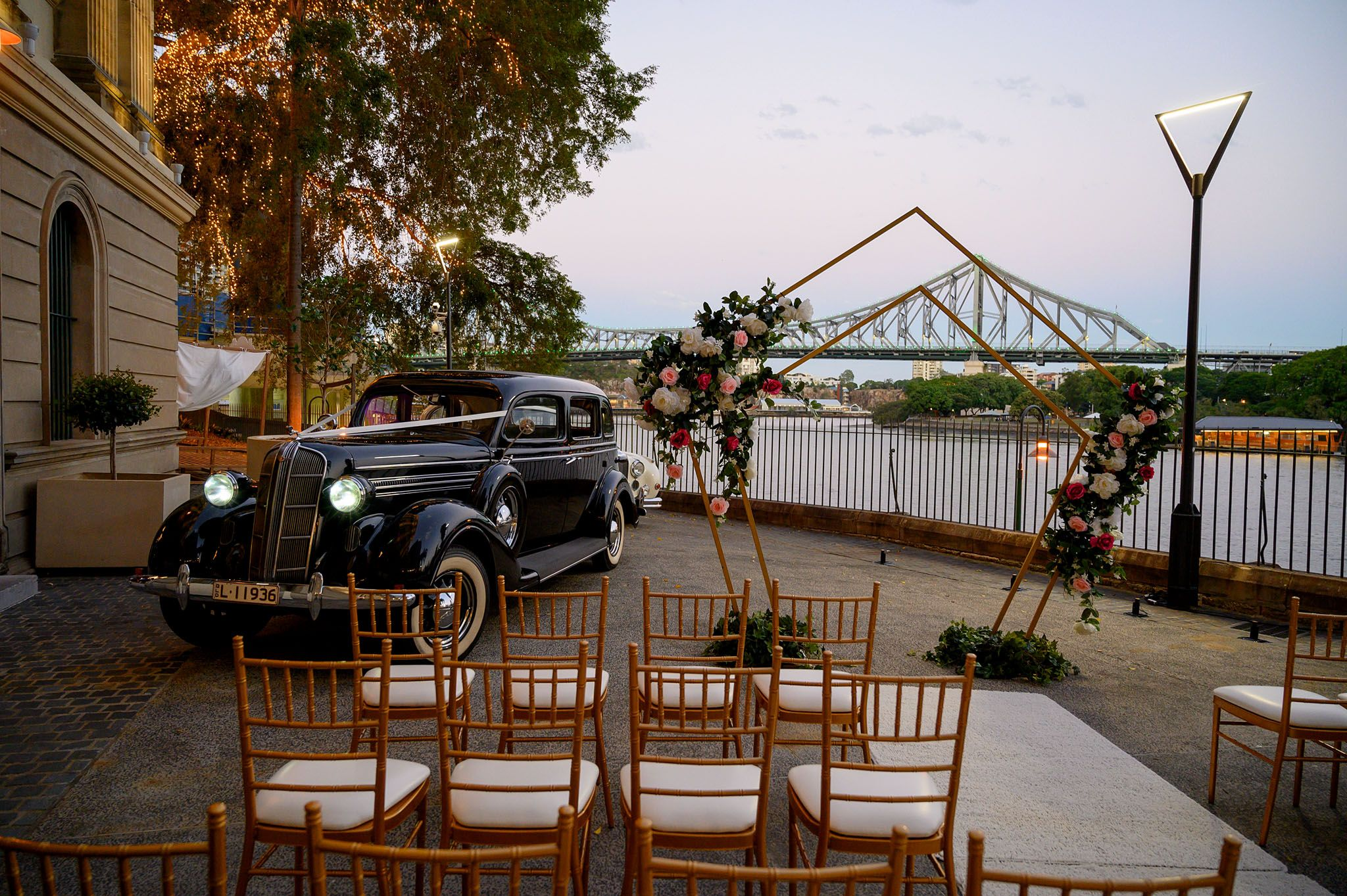Victoria Park Brisbane Wedding Venue Garden Marquee