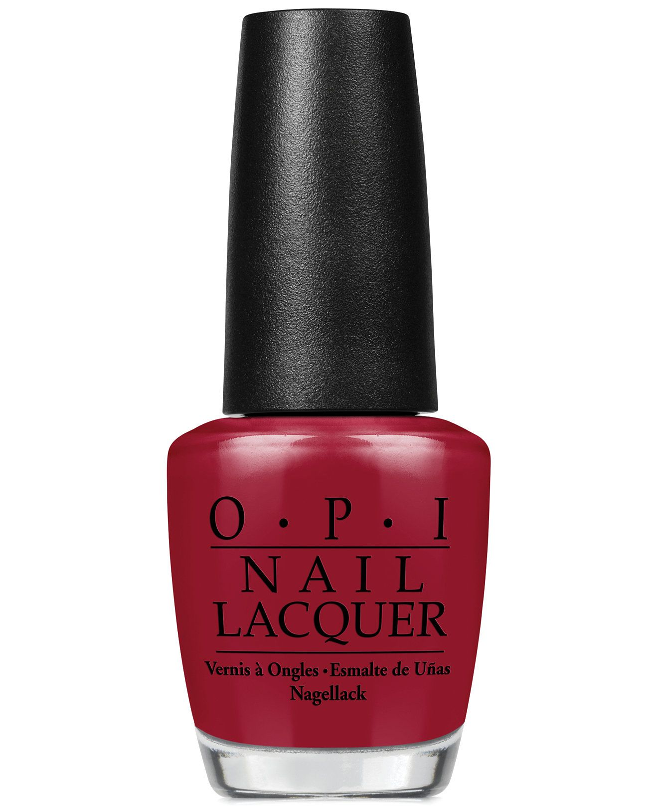 OPI Nail Lacquer, Malaga Wine - Makeup - Beauty - Macy\'s | nails ...