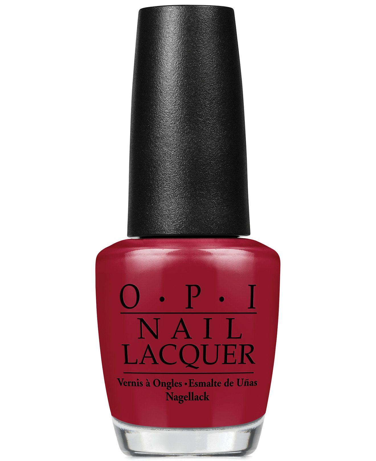 OPI Nail Lacquer, Malaga Wine - Makeup - Beauty - Macy's