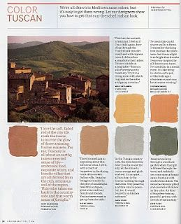 Color Tuscan Kitchen Colors Paint Wall Exterior