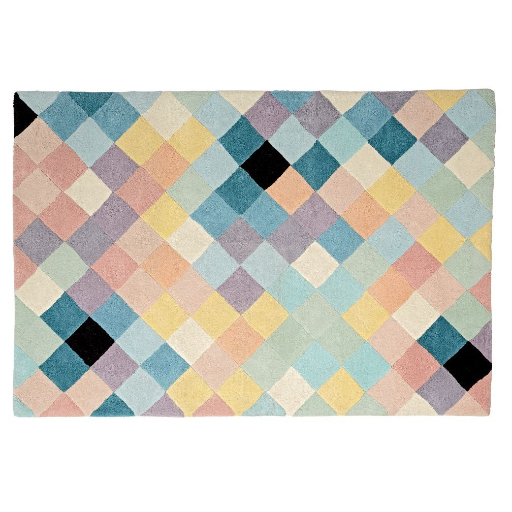 Shop Pixel Rug No Need To Adjust Your Screen Because Our Pixelated Wool Rug Really Is As Appealing As It Appears It S Topped Wit Rugs 4x6 Rug Rugs On Carpet