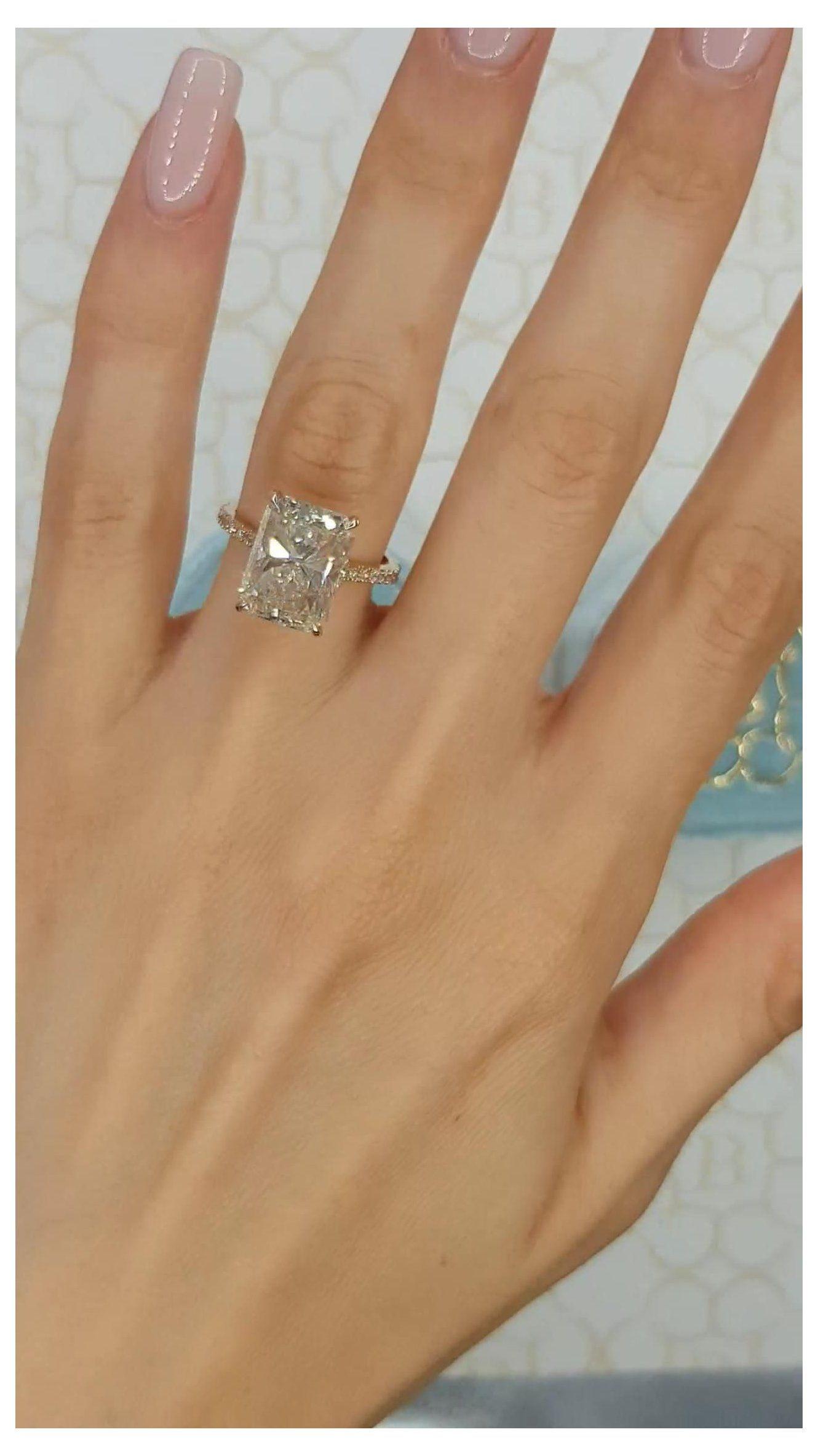big engagement rings vintage