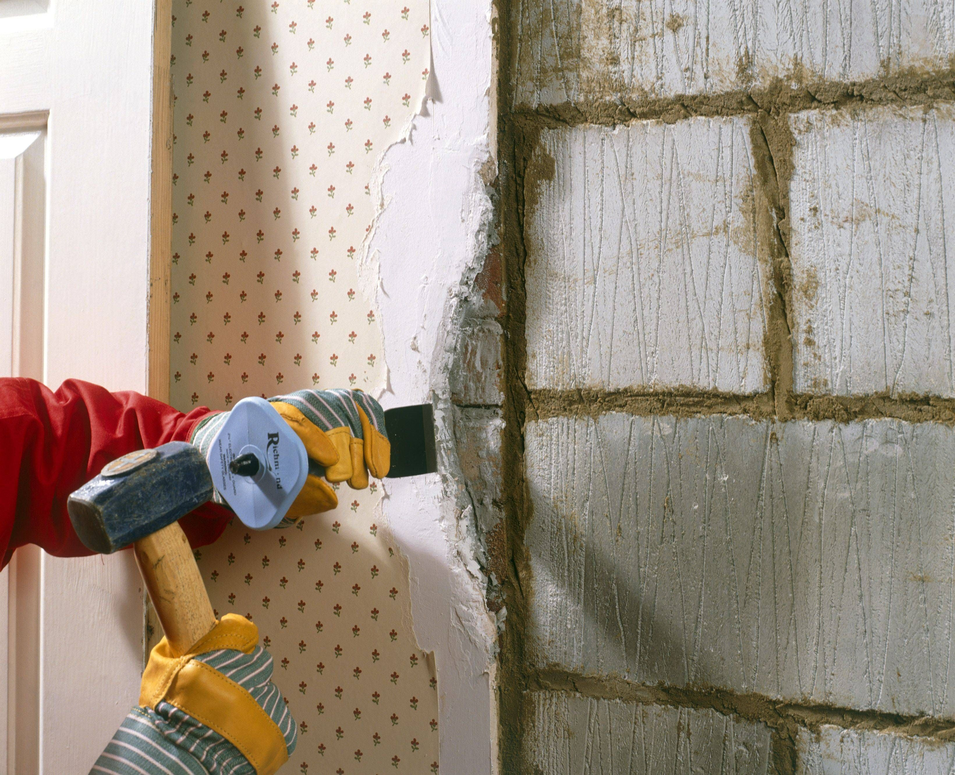 Can You Paint Over Wallpaper Painting Over Wallpaper Tips Painting Over Wallpaper Wallpaper Over Wallpaper Remodel