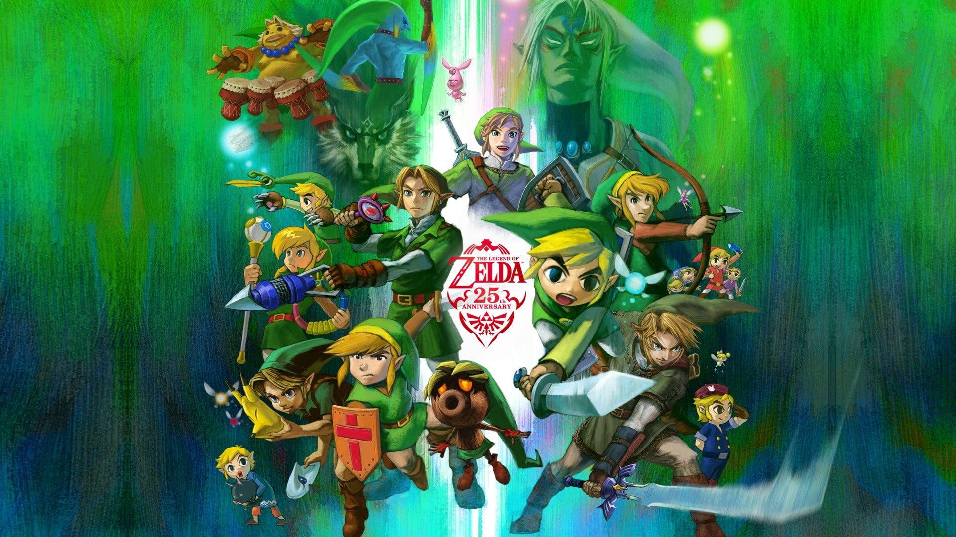 Zelda Wallpaper Zelda The Legend Of Zelda Nintendo Link 1080p Wallpaper Hdwallpaper Desktop Legend Of Zelda Characters Poster Prints Legend Of Zelda