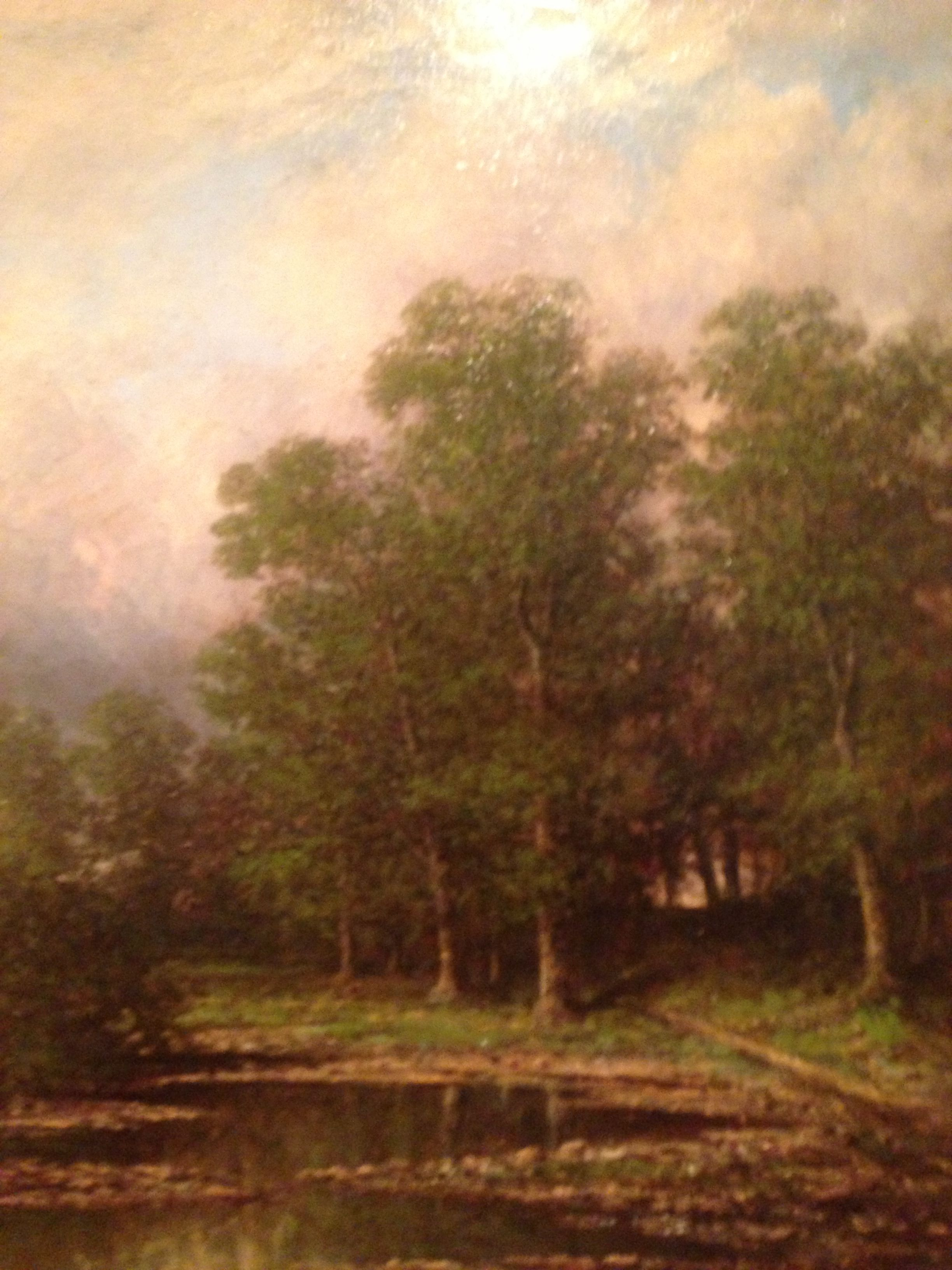 Carl Christian Brenner  Woodland Scene Morris - Christian museums in the usa