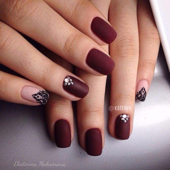 Дизайн ногтей на осень фото новинки