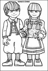 Hansel Y Gretel Para Colorear Dibujos Para Colorear De Hansel Y Gretel Hansel Und Gretel Ausmalbilder Und Gretel