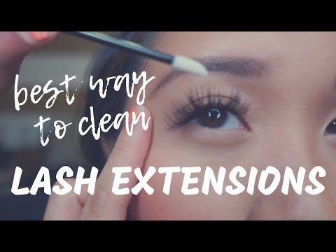 Eyelash Extensions | Best Way to Clean Eyelash Extensions ...