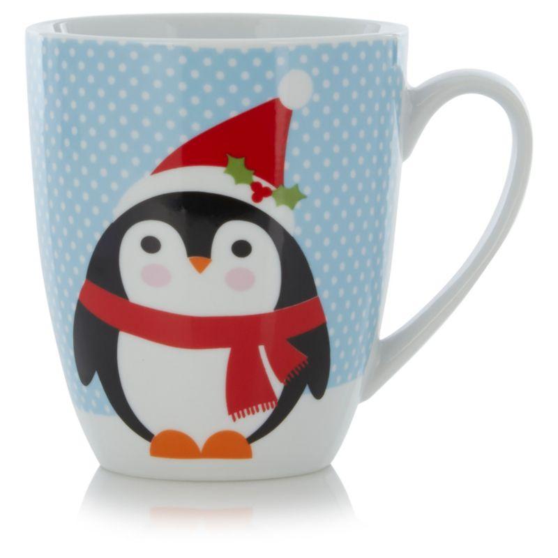 George Home Penguin Mug Cups Mugs Asda Direct Penguin Mug Mugs George Home
