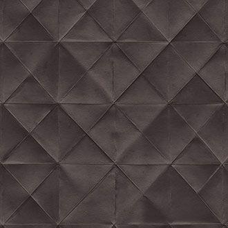 Coffee Brown Designer Diamond Shaped Wallpaper.  Free Shipping!
