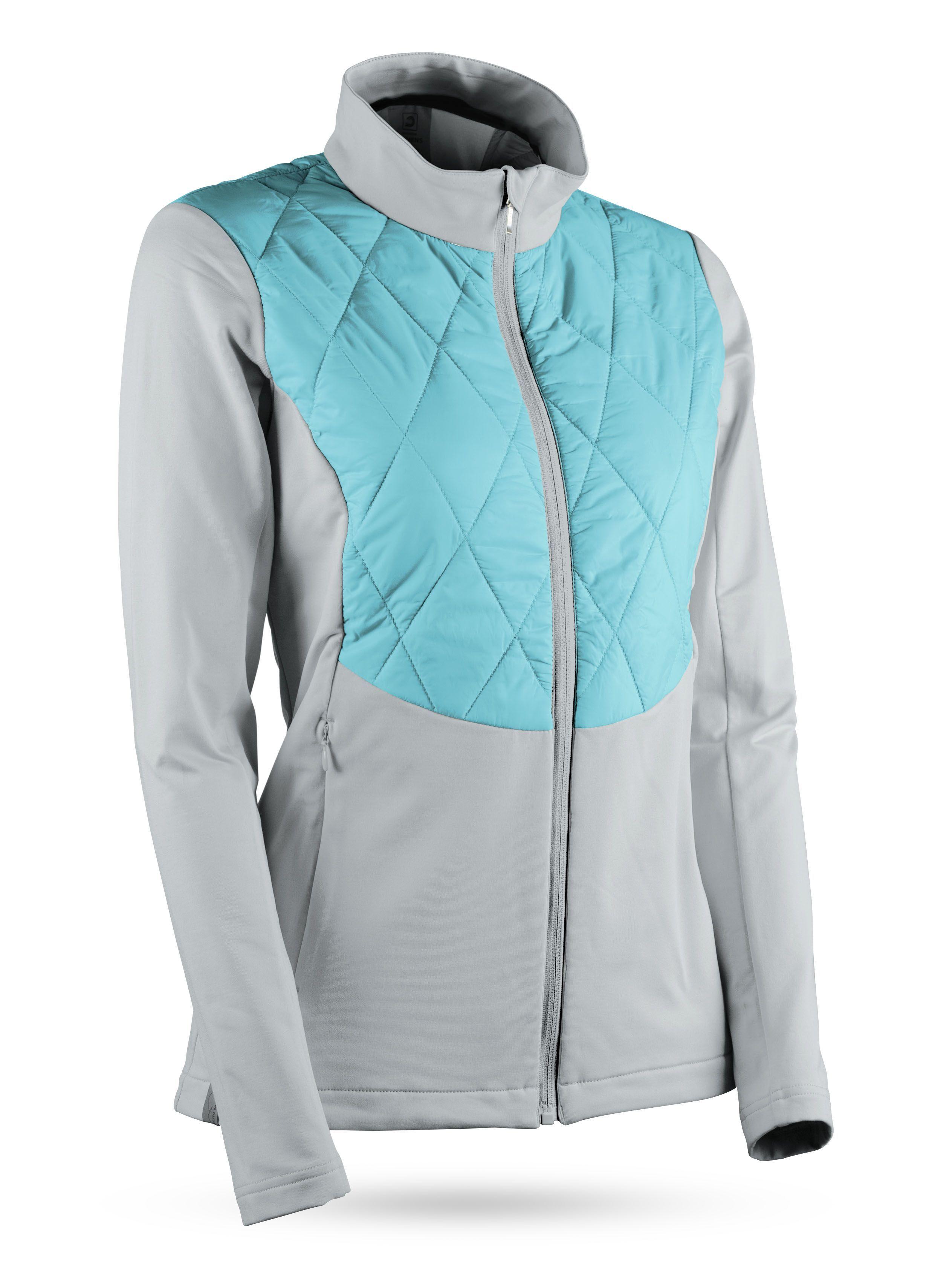 Women S At Hybrid Jacket Golf Outerwear Apparel Sun Mountain Golf Outfit Golf Jackets Golf Attire [ 3393 x 2527 Pixel ]