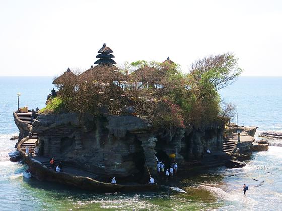 Pura Tanah Lot im Südwesten von Bali