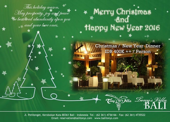 Let S Celebrate Christmas New Year Dinner With Us Secure Your Space Now To Get 10 Discount Bali Honeymoon Resorts Honeymoon Resorts Christmas And New Year