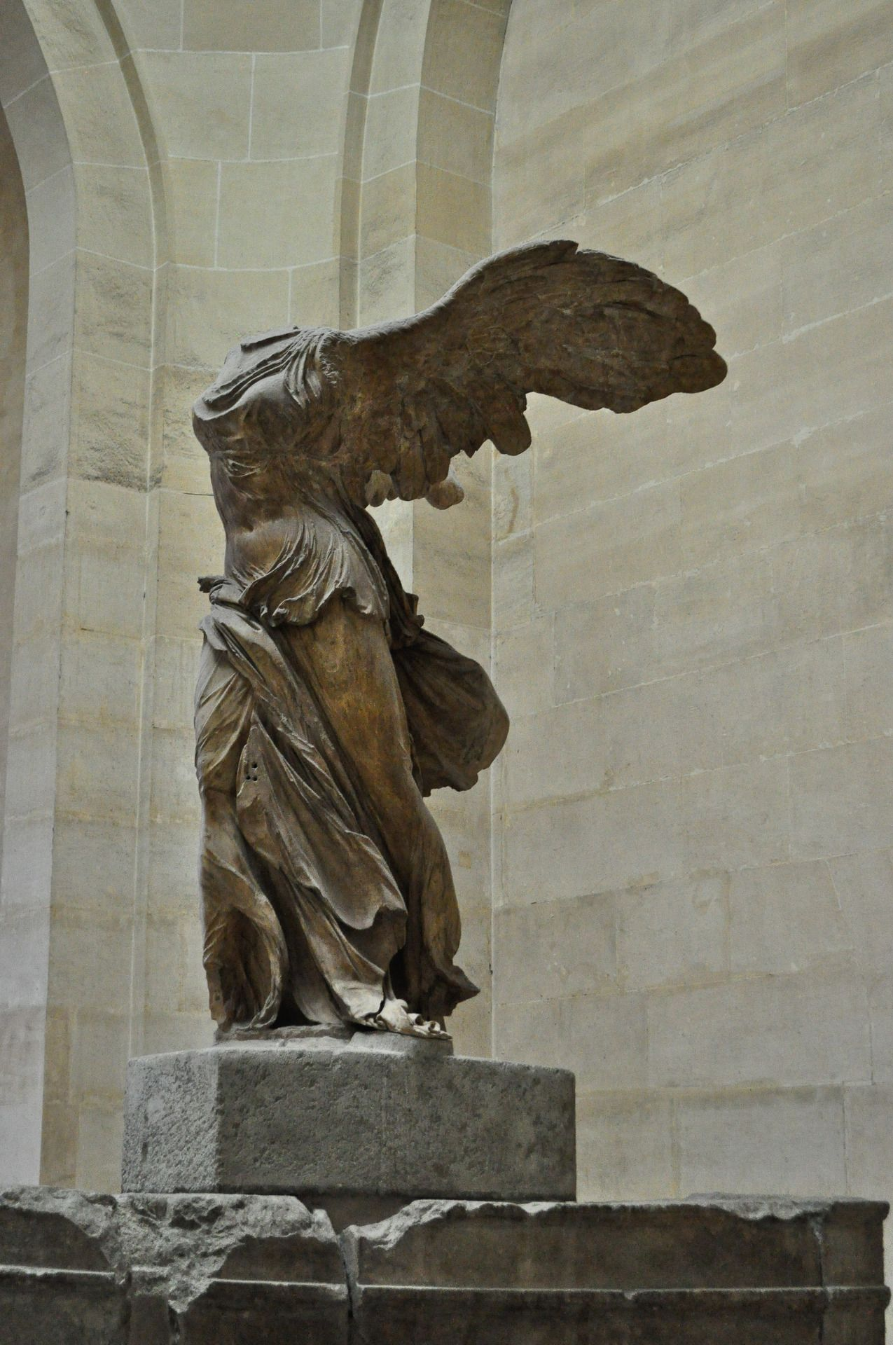 Winged Victory - Nike of Samothrace, Louvre - Paris