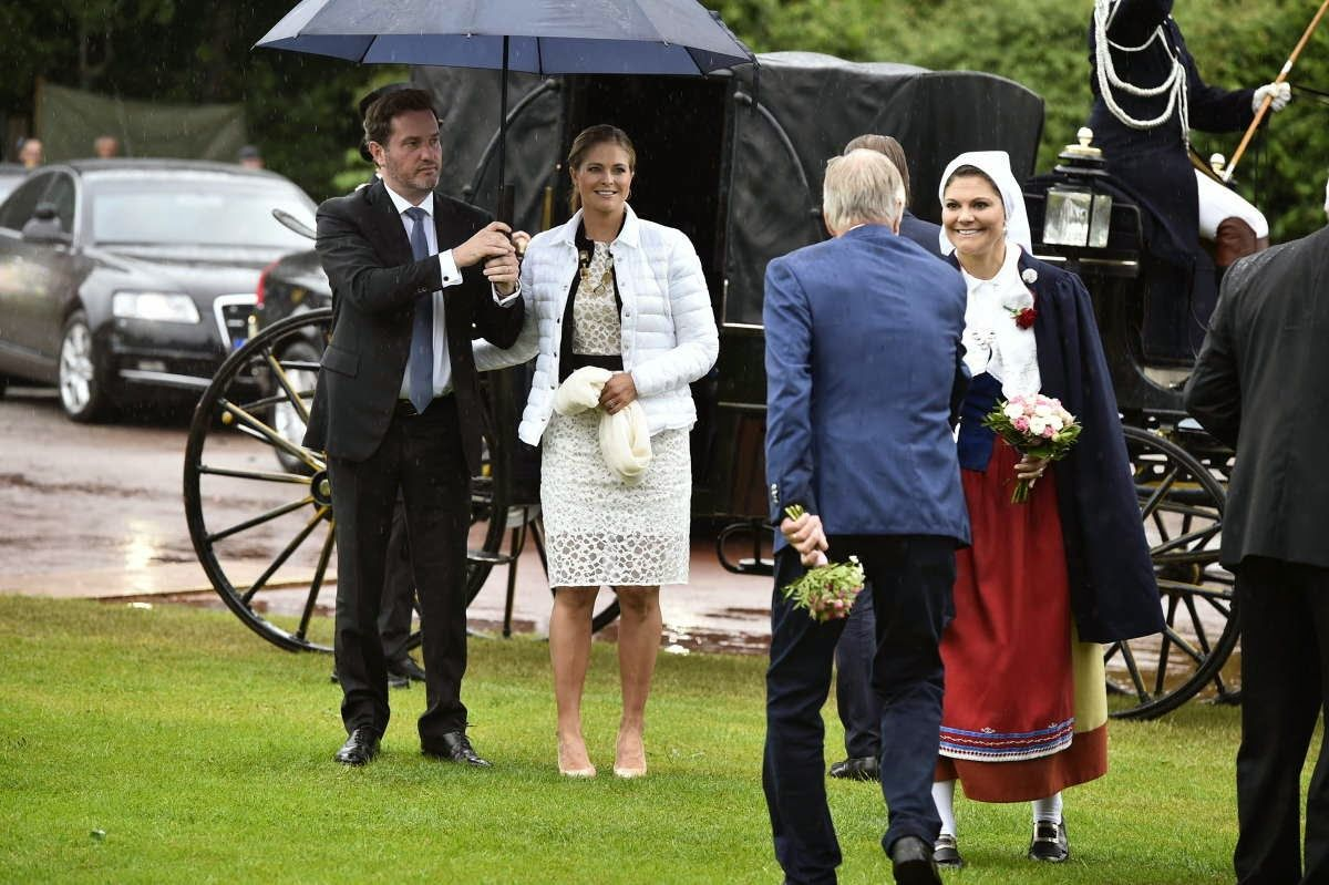 Swedish Royal Family Celebrates Crown Princess Victoria S 37th Birthday Princess Victoria Of Sweden Royal Princess Princess Victoria