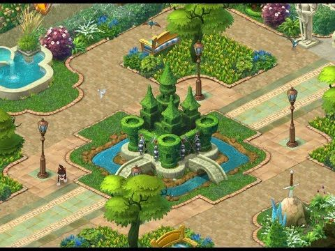 GARDENSCAPES NEW ACRES Gameplay Story Playthrough | Area 3 Maze Day 5 |  Great Mobile Games | Pinterest