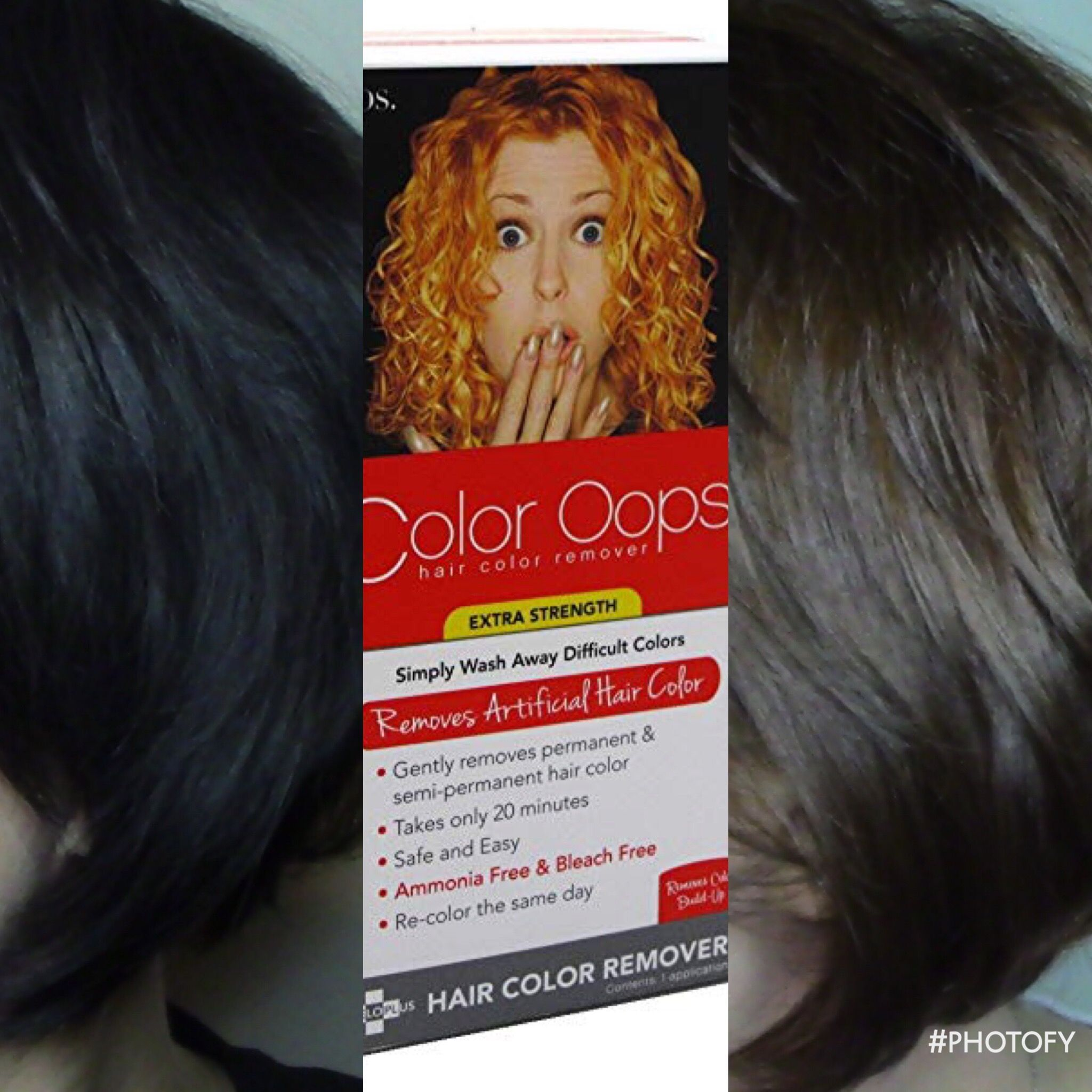 Color Oops Review Color Oops Oops Hair Color Remover Hair Color Remover