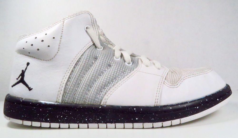 Platinumblack 4 1 Nike In Sneakers Air Flight Whitepure Jordan I7f6Yyvgb