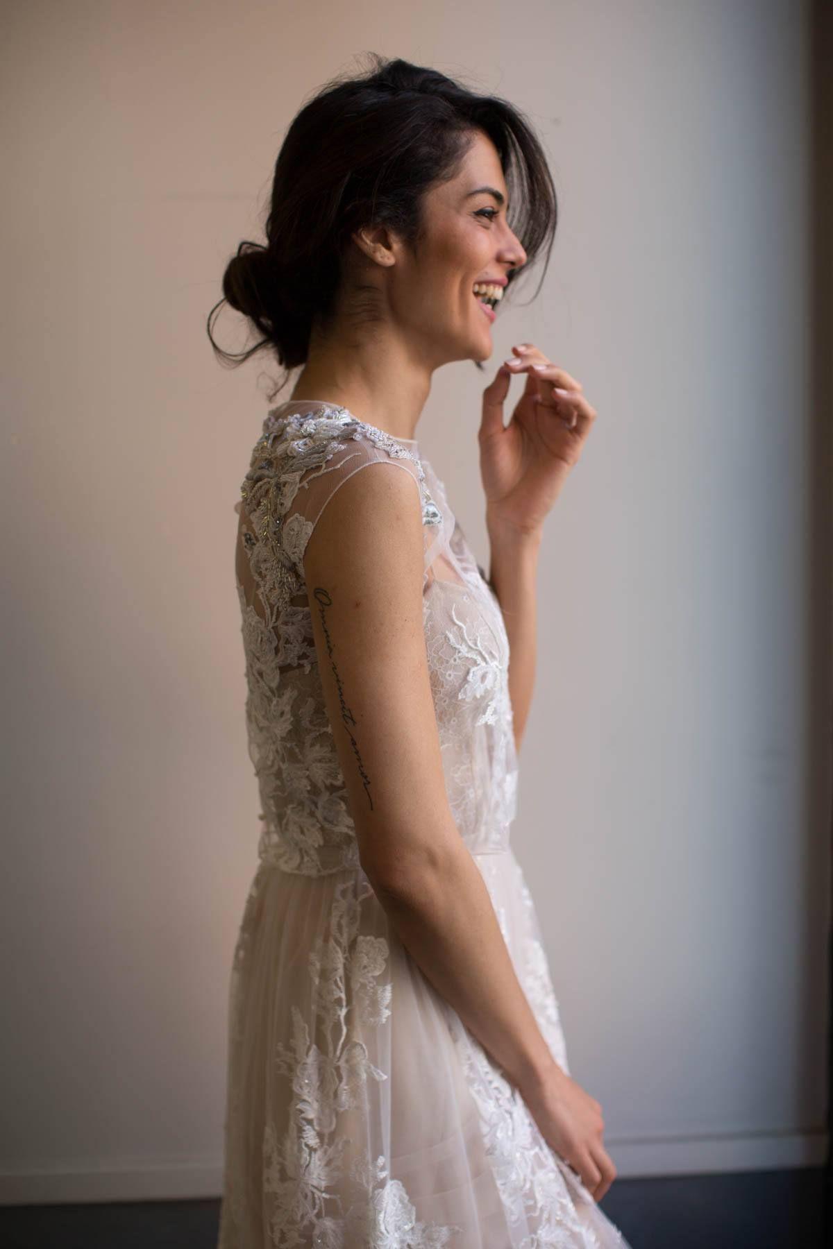 Limor Rosen Grace Gown Beaded Bridal Gown, Romantic wedding gown ...
