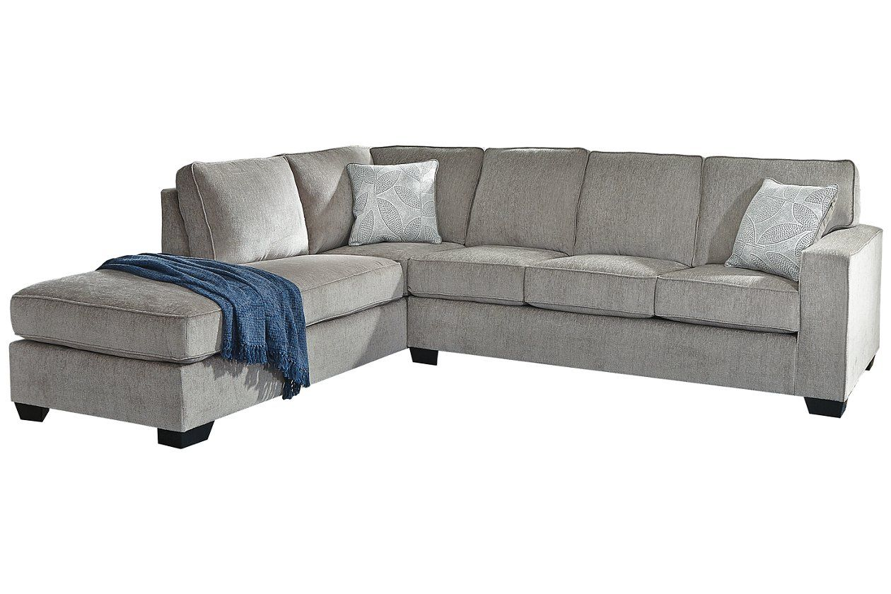 Altari 2 Piece Sleeper Sectional With Chaise In 2020 Couch Shopping Sectional Sectional Sleeper Sofa