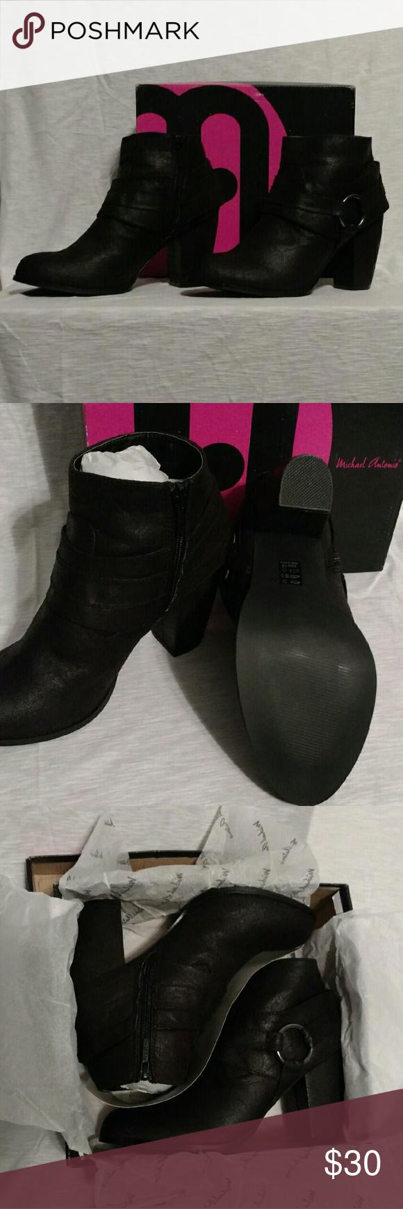 Michael Antonio Martina Booties - sz10 Michael Antonio Martina Booties New with original box Never worn Black size 10 Michael Antonio Shoes Ankle Boots & Booties