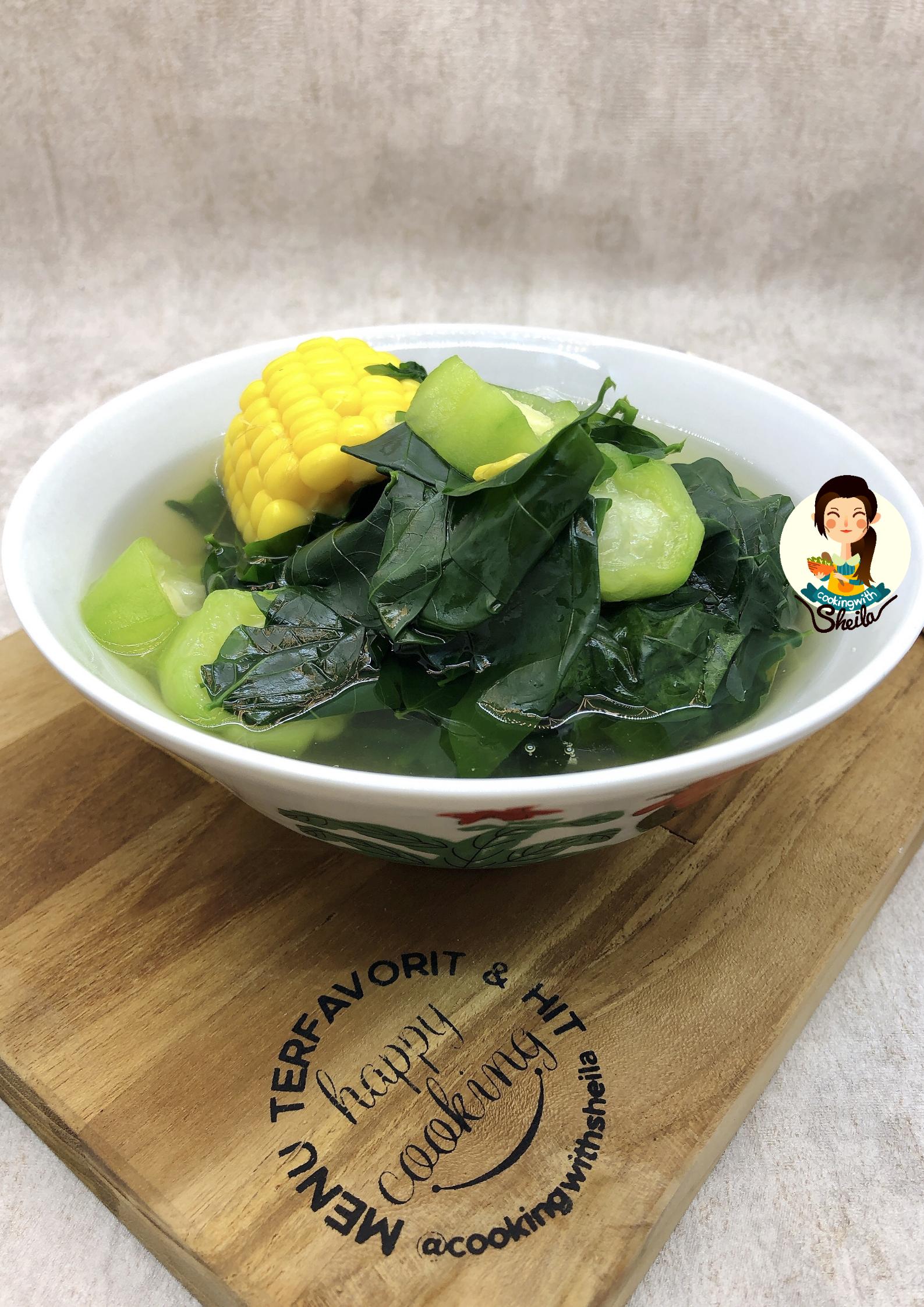 Sayur Bening Daun Katuk Utk Ibu Menyusui Cooking With Sheila Rebusan Sayuran Buah