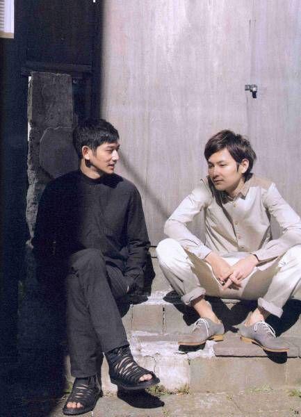 脚が長い松田龍平がかっこいい