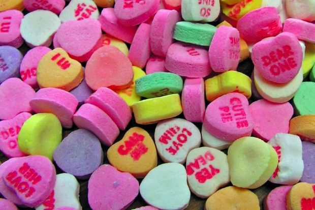 Valentine S Day Candy Hearts Sayings Animations Pinterest