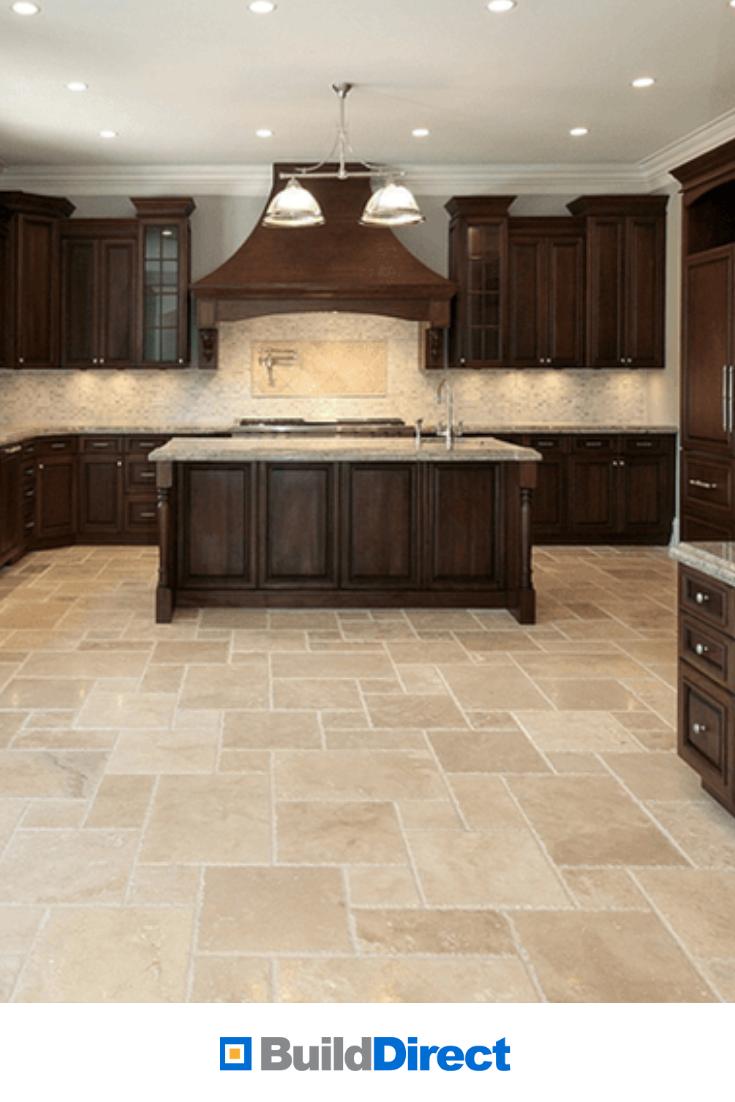 BuildDirect® Kesir Travertine Tile   Antique Pattern Sets   Brown ...