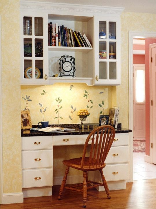 Cottage Style Desk Chair - Ideas for Decorating A Desk Check more at ...