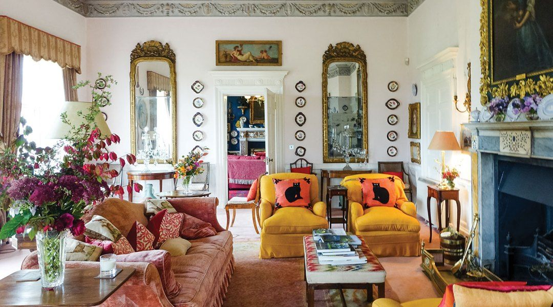 Heiress To The Estate Glin Castle Architectural Digest Dominic