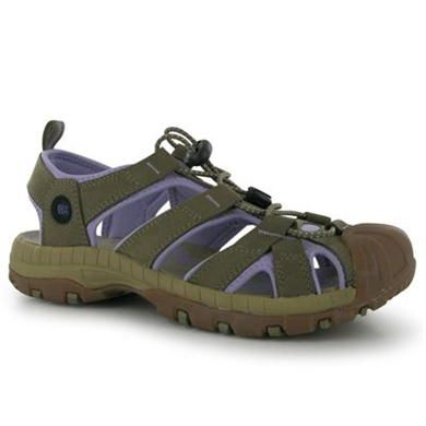 Ithaca Leather Ladies Sandals   Leather