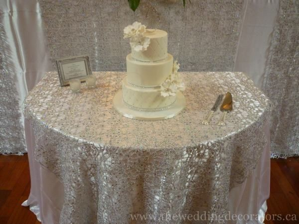 I Like The Half Round Table Cake Table Decorations