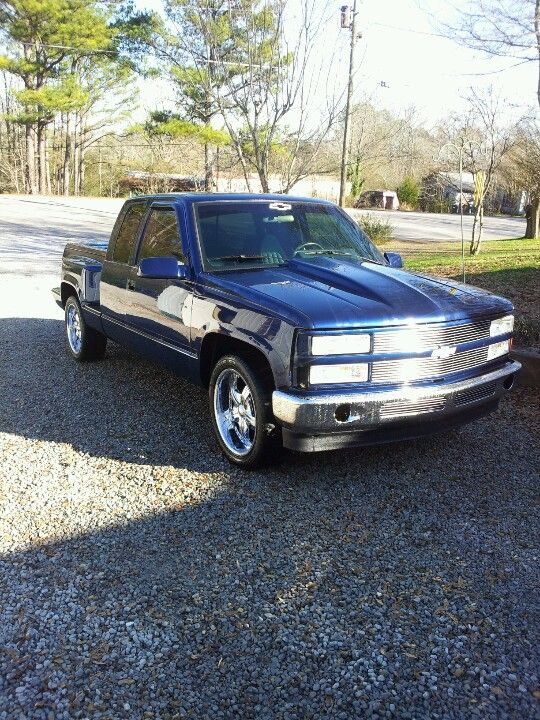 My First Ever Vehicle 93 Chevy Stepside Extended Cab Chevy