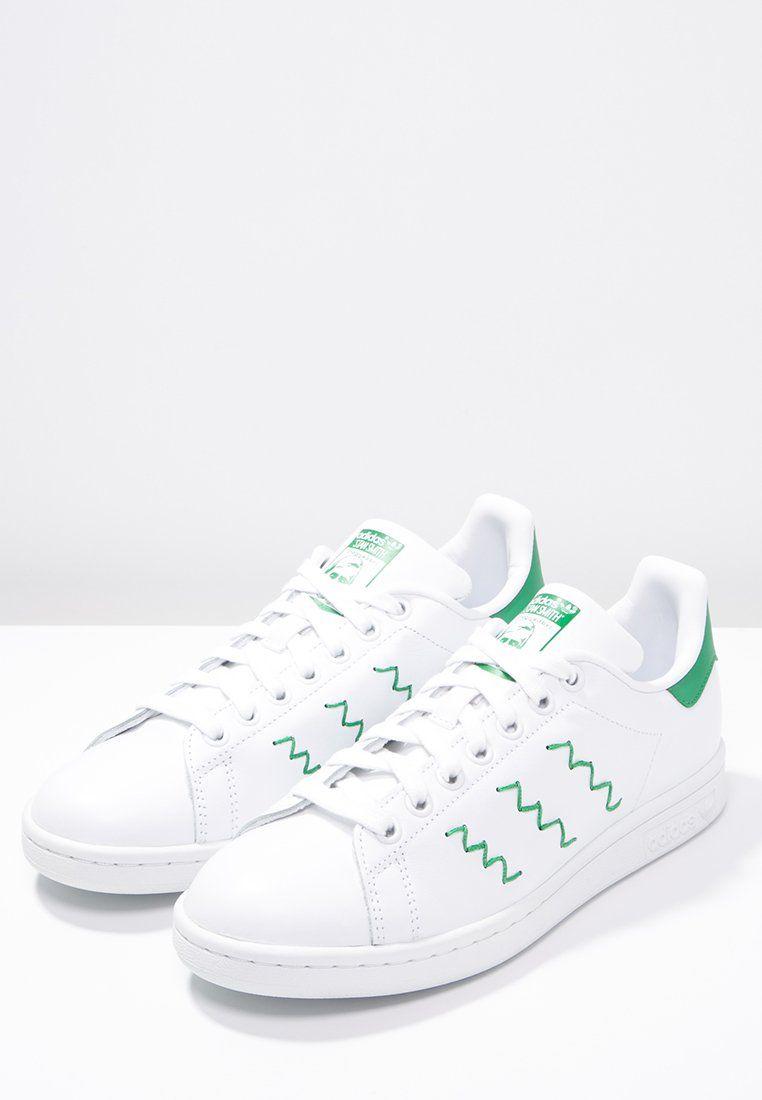 adidas Originals STAN SMITH - Sneakers basse - white/green - Zalando.it