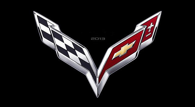 Chevrolet Will Introduce A New Seventh Generation Sports Car Corvette 13th January 2013 In Detroit As T Chevrolet Corvette Car Logos Chevrolet Corvette 2014