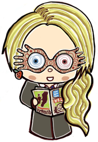 How To Draw Cute Chibi Luna Lovegood From Harry Potter In Simple Steps How To Draw Step By Step Drawing Tutorials Harry Potter Drawings Harry Potter Art Harry Potter Luna Lovegood
