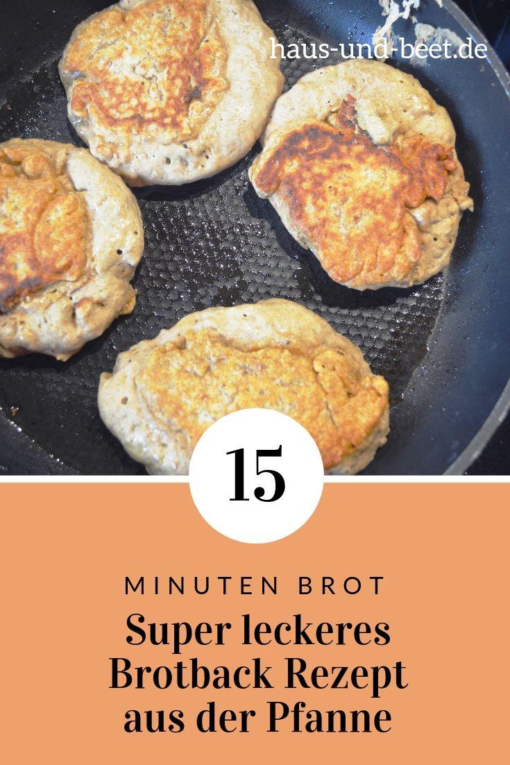 Schnelles Brot backen in nur 15 Minuten