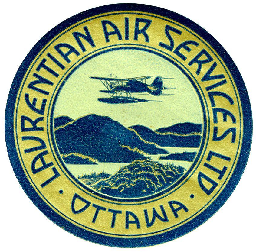 Laurentian Air Services Ltd. Ottawa Vintage airlines