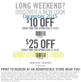 photograph regarding Torrid Printable Coupons known as Printable Discount codes: Aeropostale Coupon codes No cost Printable