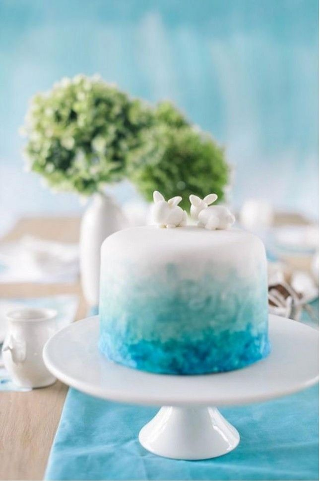 22 Watercolor Cakes Almost Too Pretty To Eat Watercolor Cake