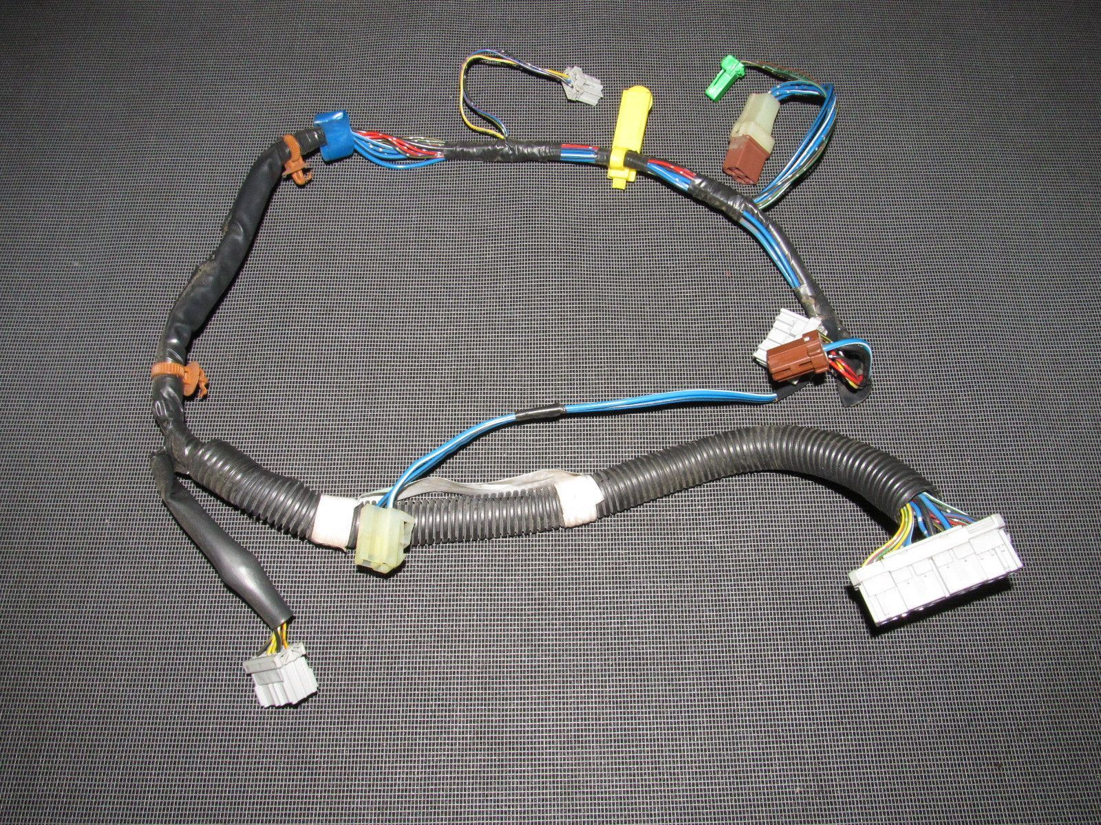 93 94 95 96 97 Honda Del Sol Oem Climate Control Wiring Harness